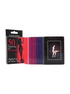50 Positions of Bondage Cards Inside