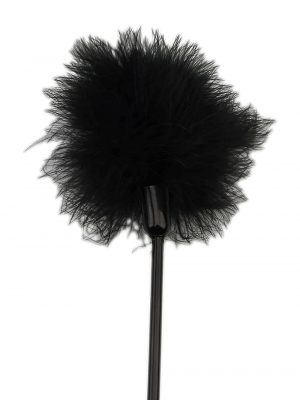 Bound To Please Heart Shaped Crop with Feather Tickler Feather