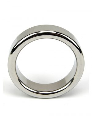 Bound To Please Solid Metal Cock and Ball Ring 1.75 inch Top