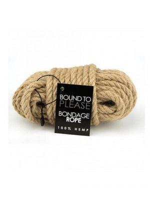 Bound to Please 100% Hemp Bondage Rope 10 Metres