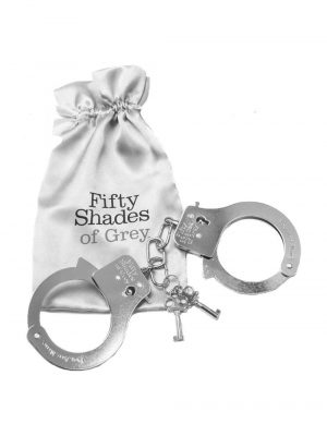 Fifty Shades of Grey You Are Mine Metal Handcuffs Main