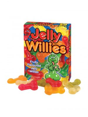 Fruit Flavoured Jelly Willies Adult Sweets