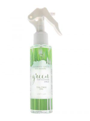Intimate Earth Green Toy Cleaner Spray Vegan Tea Tree Oil 125ml