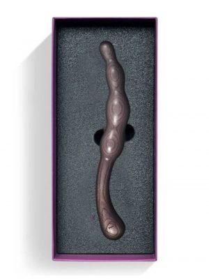 LustHoiz BackHoiz Wooden Anal Chain 8.5 Inch Inside Box