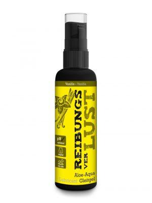 LustHoiz Friction Loss Vanilla Flavoured Water Based Lubricant 100ml Main