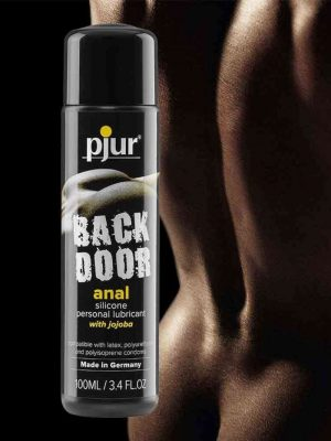 Pjur Back Door Transparent Relaxing Anal Glide Silicone Based Lubricant 30ml Main