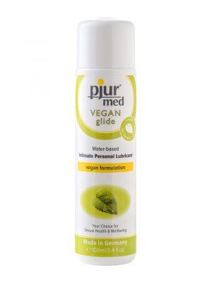 Pjur Med Vegan Glide Water Based Intimate Personal Lubricant 100ml