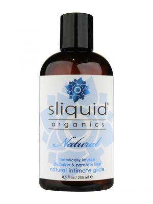 Sliquid Organics Natural Botanically Infused Intimate Glide Vegan Lubricant 255ml