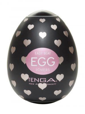 TENGA EGG Lovers Heart Textured Male Masturbator Main