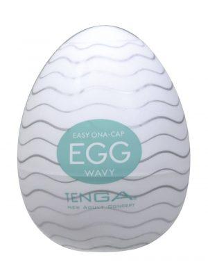 TENGA EGG Wavy Textured Male Masturbator Main