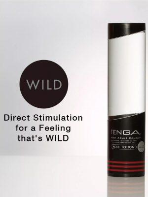 TENGA Hole Lotion WILD Lubricant for Men 170ml Logo