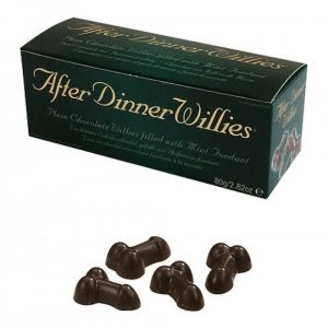 After Dinner Willies - Chocolate Willy Treats by Spencer & Fleetwood 80g