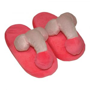 Pink Penis Slippers - Novelty Willy Slippers