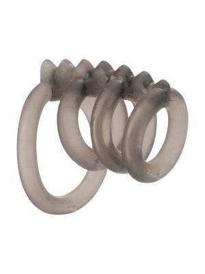 California Exotics Dr Joel Kaplan Support Master Triple Smooth Penis Ring Side