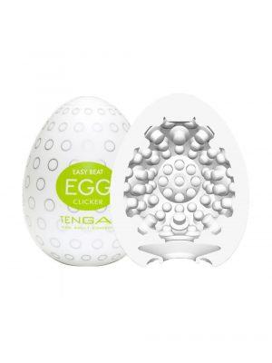TENGA EGG Clicker Textured Male Masturbator Duo