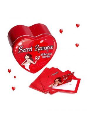Secret Romance Tin