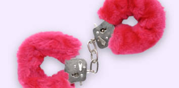 Pink Fluffy Handcuffs