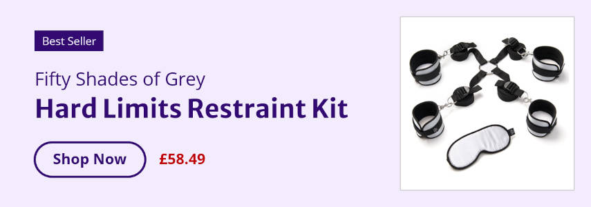 Best Seller Fifty Shades of Grey Hard Limits Restraint Kit