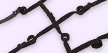Black Under-Bed Restraints