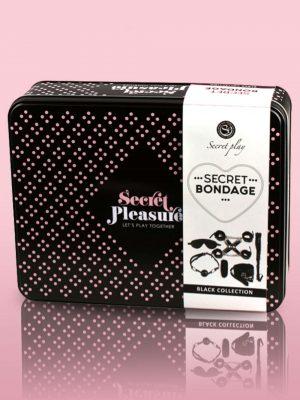 Secret Bondage Kit Black Collection Box